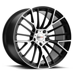 Astoria  / Gloss Black w/ Mirror Cut Face   5 Lug