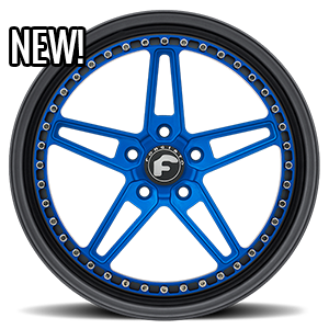 F-Cinque  / Blue Center, Black Lip   5 Lug