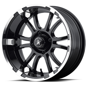 Sixer  / Machined Matte Black   4 Lug
