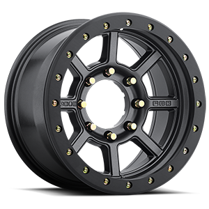 Bully Pro  / Matte Black with Graphite Metallic Flake   6 Lug
