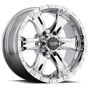 Chaos 6  / Chrome   6 Lug