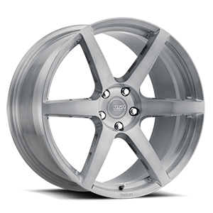 R901  / Brushed Titanium   5 Lug