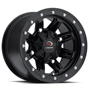 550 Five-Fifty  / Matte Black   4 Lug