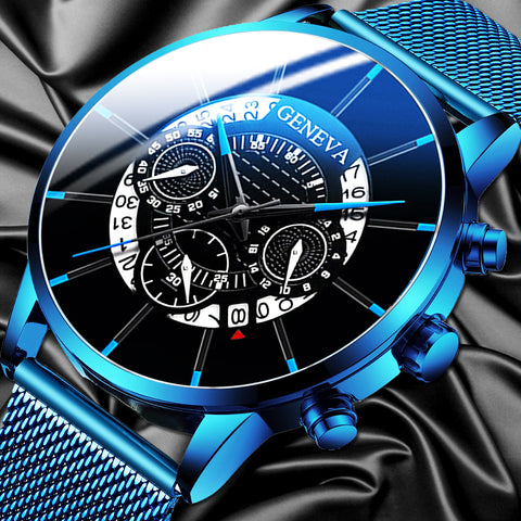 Luxury Men's Fashion Business Calendar Watches