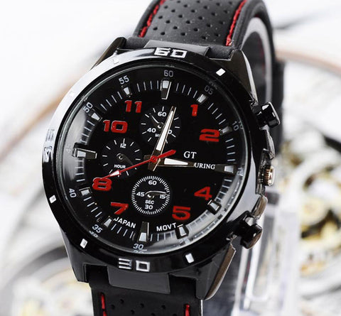 Top Luxury Brand Fashion Military Quartz Watch