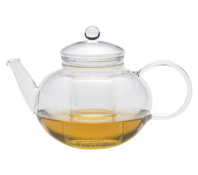 Miko glass teapot 1.2L with glass strainer