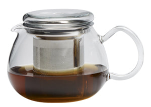 Pretty Tea II glass teapot