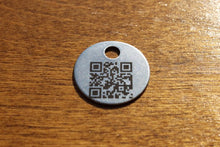 Load image into Gallery viewer, 20 Gauge 1 Inch Stainless Steel Tags