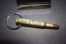 Load image into Gallery viewer, 30-06 Bullet Necklace or Keychain