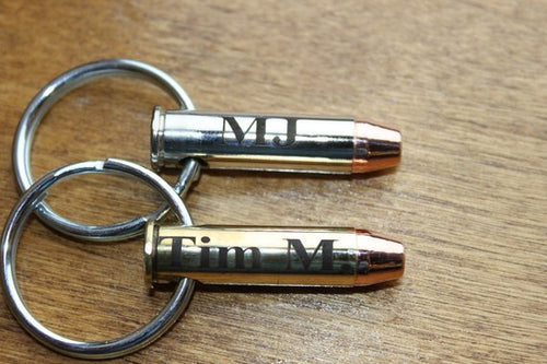 357 Magnum Personalized Keychain or Necklace