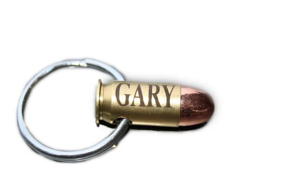 45 Auto Personalized Bullet Necklace or Keychain
