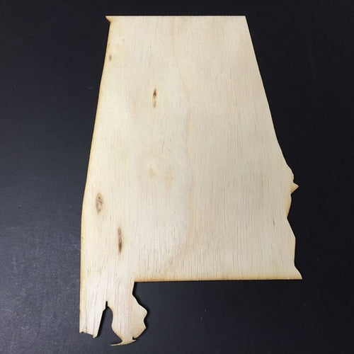 Alabama Wood Cutout