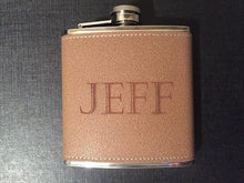 Load image into Gallery viewer, Engraved 6 oz Flask Only