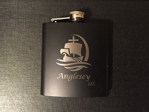 Engraved 6 oz Flask Only