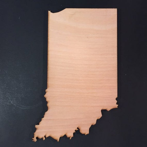 Indiana Wood Cutout