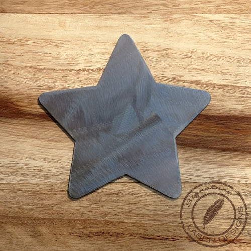 Star Shape Metal Wall Art 16 Gauge Powder Coated Indoor or Outdoor Sign