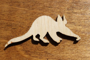 Aardwark Wood Cutout