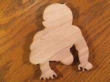 Load image into Gallery viewer, Baby Wood Cutout