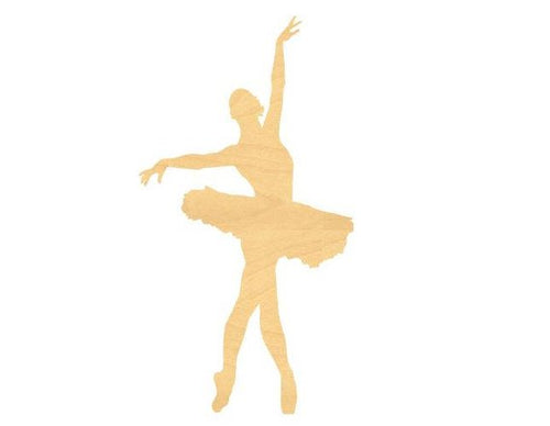 Ballerina Sign Wood Cutouts