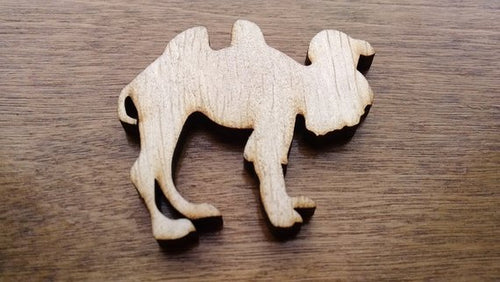 Camel Wood Cutout