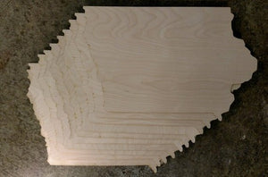 Wood Cutout Canvas 10 Pack