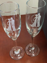 Load image into Gallery viewer, Champagne Flutes - Wedding
