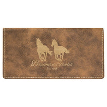 Load image into Gallery viewer, Checkbook Cover - Leatherette Customized