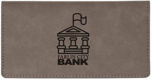 Checkbook Cover - Leatherette Customized