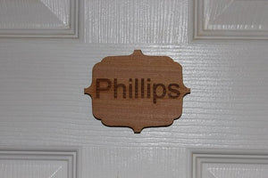 Engraved Door Number or Name