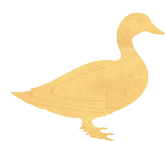 Duck Wood Cutout