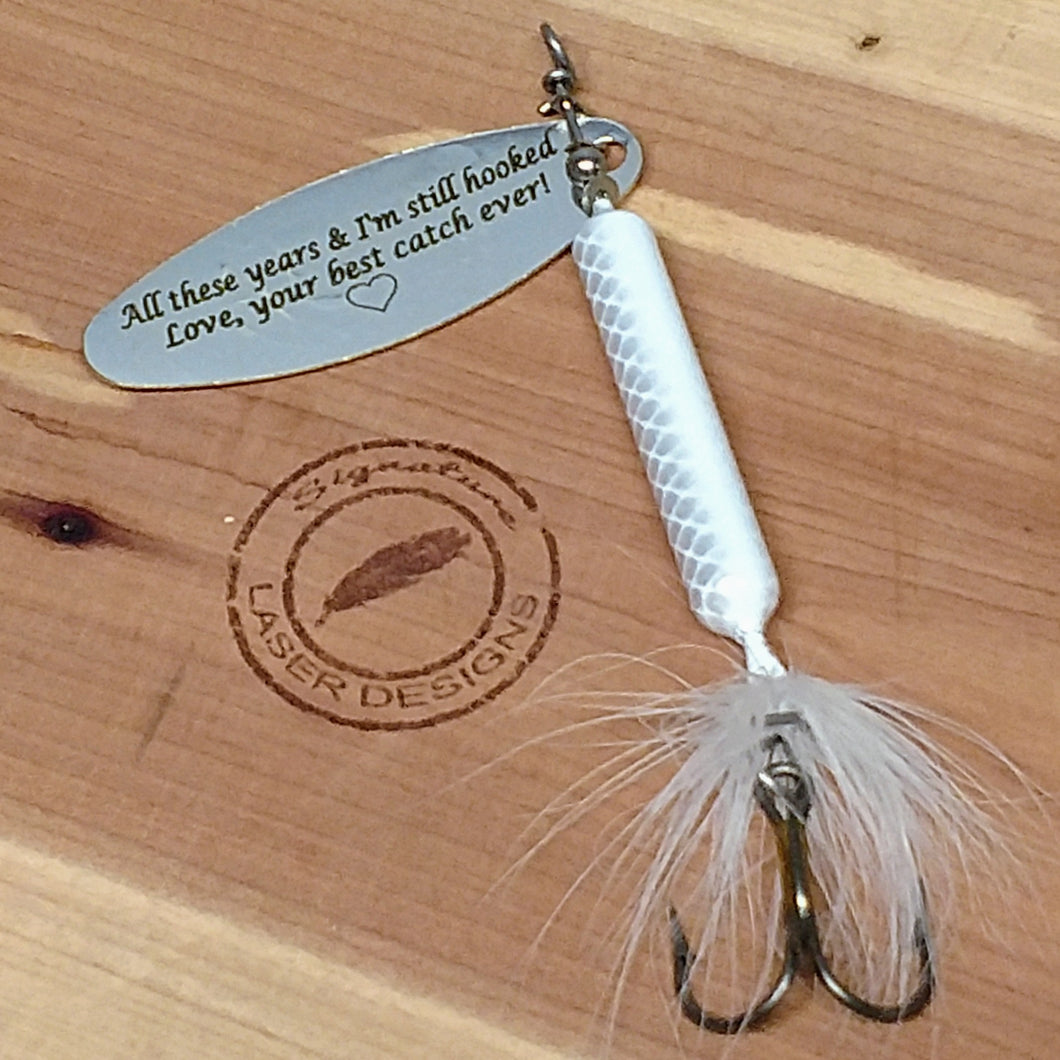 Rooster Tail Fishing Lure Gift