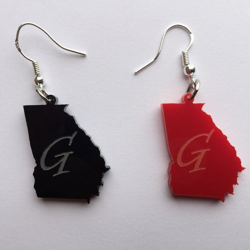 State of Georgia Earrings
