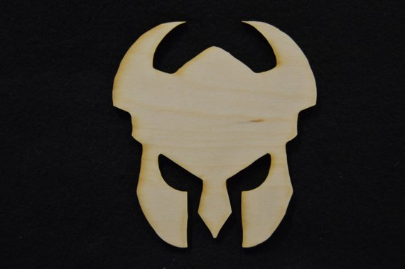 Gladiator Wood Cutout
