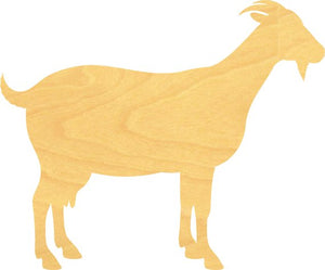 Goat Wood Cutout