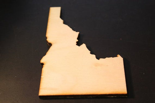 Idaho Wood Cutout