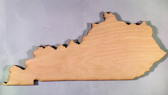 Kentucky Wood Cutout