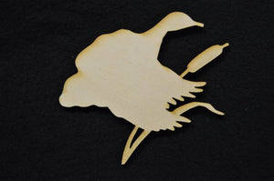 Mallard Wooden Cutout Duck Sign