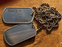 Load image into Gallery viewer, Dog Tags For Men