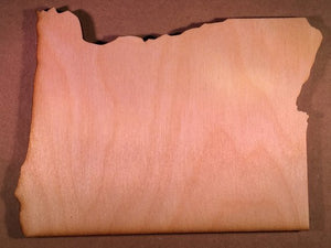 Oregon Wood Cutout