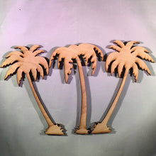Load image into Gallery viewer, Palm Tree Wood Cutout Sign