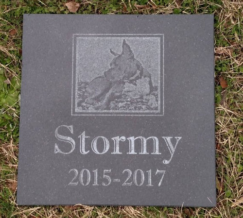 Customized Pet Grave Markers