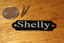 Load image into Gallery viewer, Mountable Anodized Aluminum Room Numbers Name Plates or Door Tags