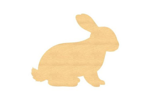 Rabbit Wood Cutout