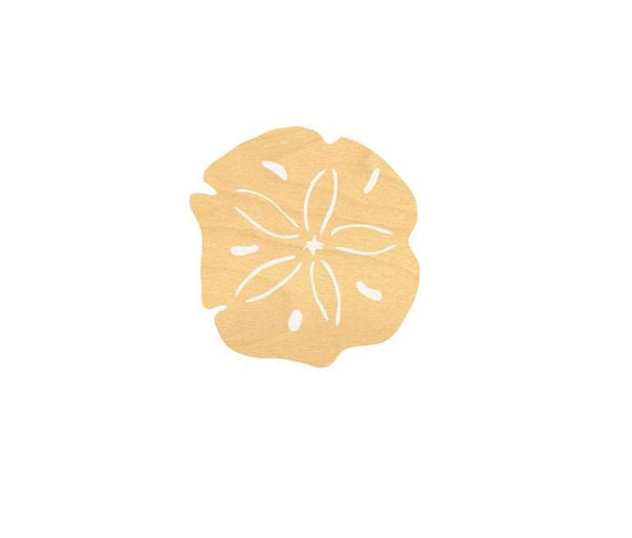 Sand Dollar Wood Cutout