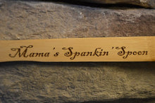 Load image into Gallery viewer, Spank Spoon - Spanking Spoon Personalized Spoon