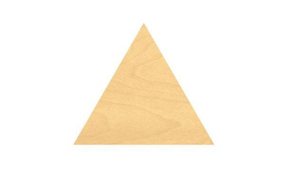 Triangle Wood Cutout