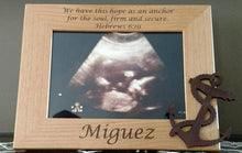 Load image into Gallery viewer, Ultrasound Frame - Anchor Theme - 5 x 7 Custom Engraved
