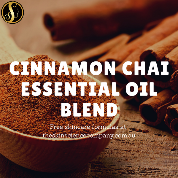 How to make Cinnamon Chai Essential Oil Blend