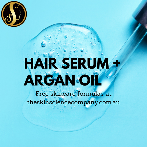 How to make your own Hair Serum with Argan Oil