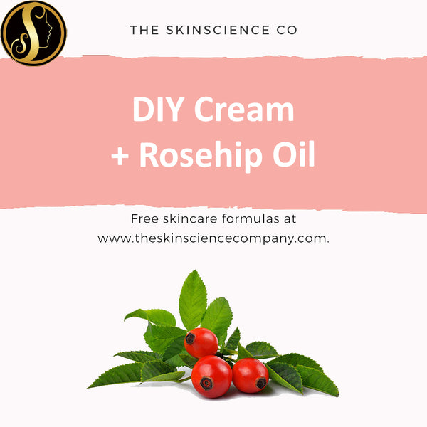 How to make your own Hand Cream with Rosehip Oil